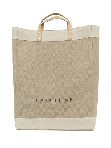 APOLIS + CASA FLINE  Market Bag