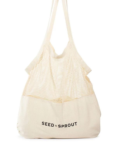 【SEED&SPROUT】MIXED MESH TOTE