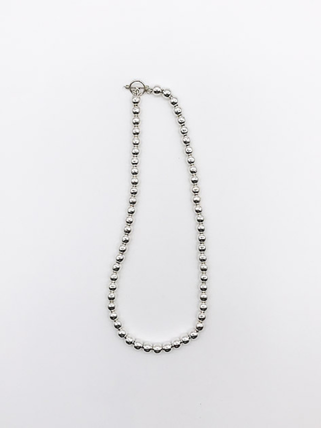 【Nina&Jules】Ball chain Necklace(large)