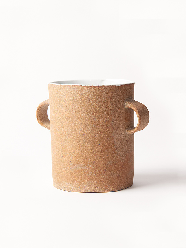 【MT.WASHINGTON  POTTERY】Loop Handle Cache Pot